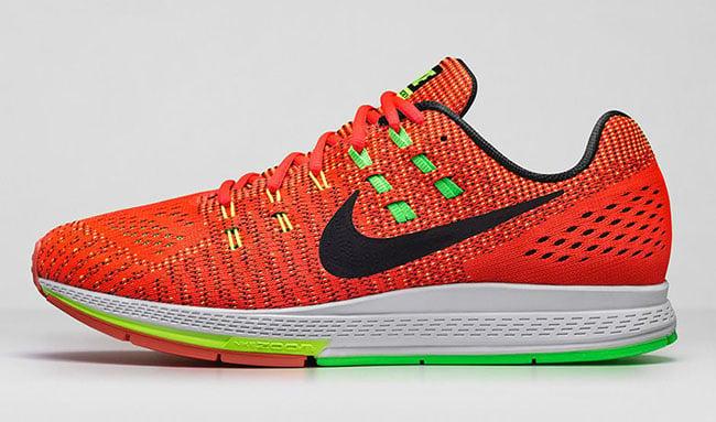 Nike Air Zoom Structure 19 Bright Crimson Volt