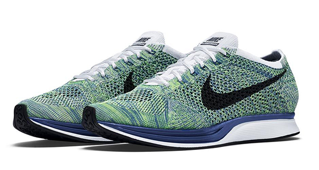 promo code 44afe ac03b Nike Flyknit Racer Tranquil