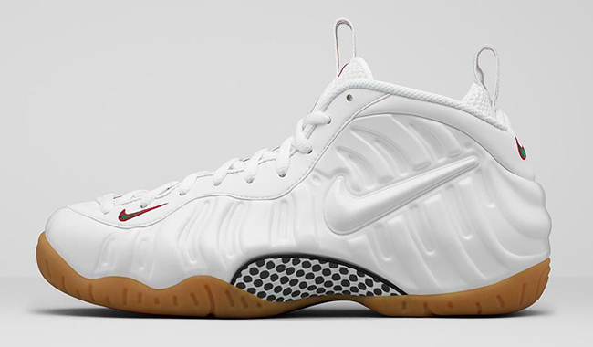 White Gucci Nike Air Foamposite Pro