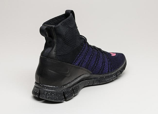 Nike Free Flyknit Mercurial Court Purple