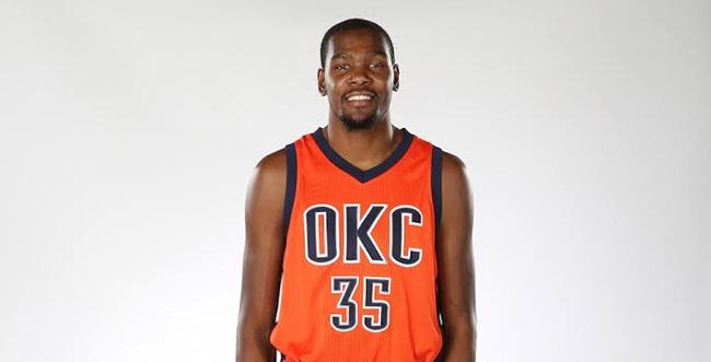 Nike KD 8 OKC Thunder