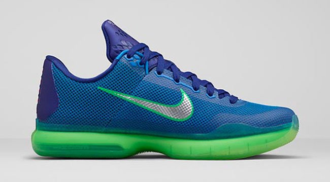 Nike Kobe 10 Emerald City Seahawks