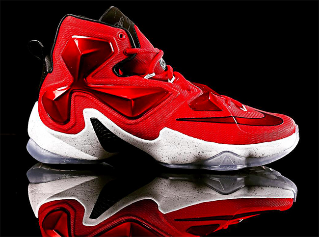 official photos 73df1 1ba0f Nike LeBron 13 Away Cavs Red