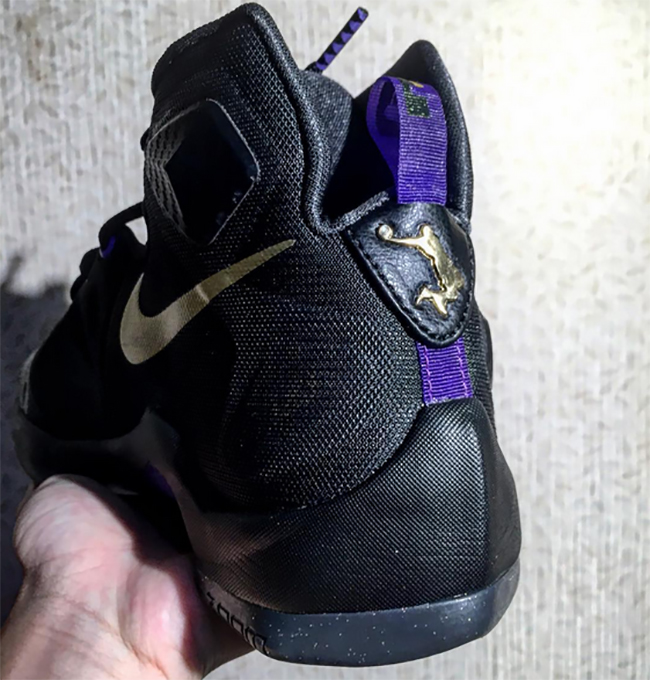 Nike LeBron 13 Black Purple Gold