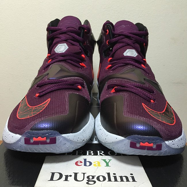 factory price 2b812 c632a top quality lebron 13 purple wave 10fee b6411