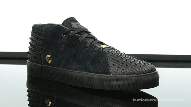 Nike LeBron 13 NSW Lifestyle Black Gold Red