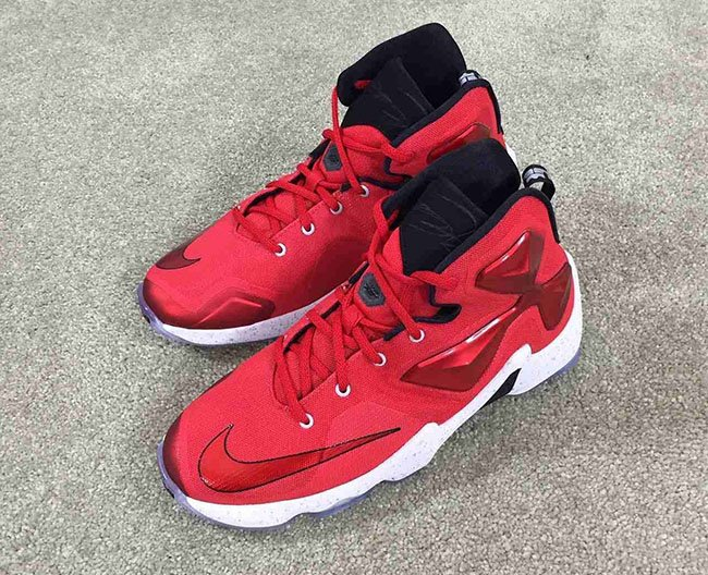 Nike LeBron 13 Red