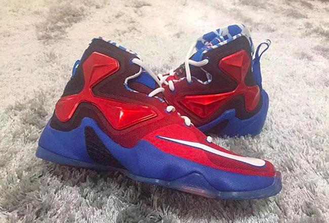 Spiderman Nike LeBron 13