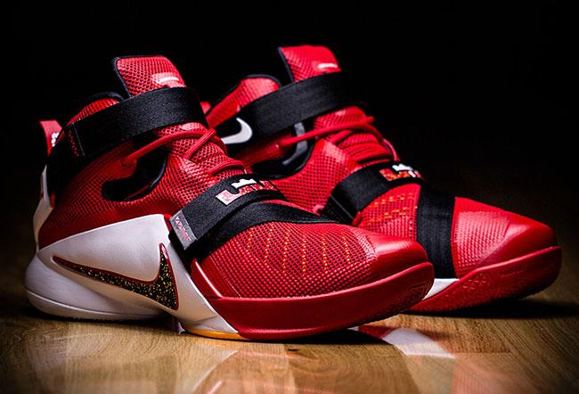 Nike LeBron Soldier 9 Cavs   SneakerFiles