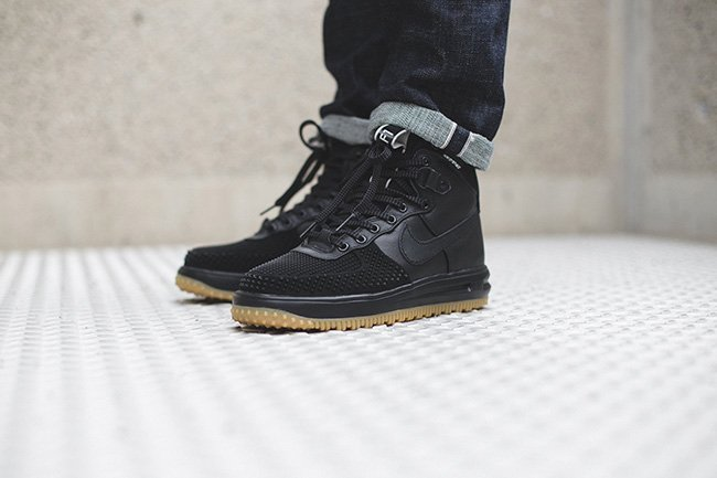 pretty nice 4fe2e c5d47 Nike Lunar Force 1 Duckboot Black Gum