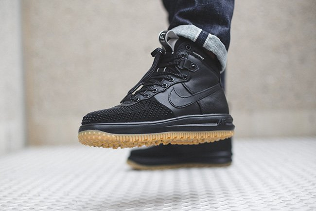 Nike Lunar Force 1 Duckboot Black Gum Sneakerfiles