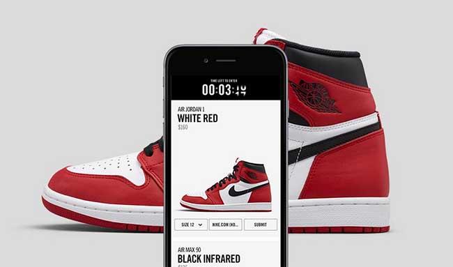 Nike Online Sneaker Raffle System