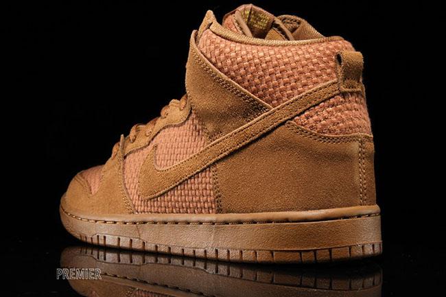 Nike SB Dunk High Ale Brown