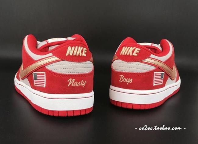 Nike SB Dunk Low Nasty Boys Cincinnati Reds