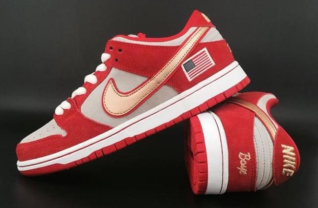73daa577146c Nike SB Dunk Low Nasty Boys Cincinnati Reds