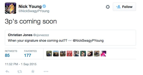 Nick Young Signature Sneaker