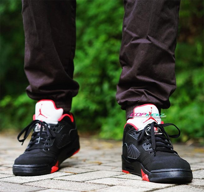 promo code 5662d 4fb96 Air Jordan 5 Low Alternate 90 On Feet