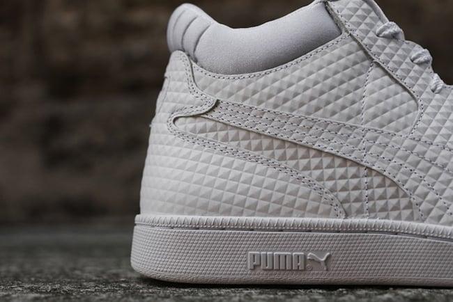 Puma Becker Embossed White