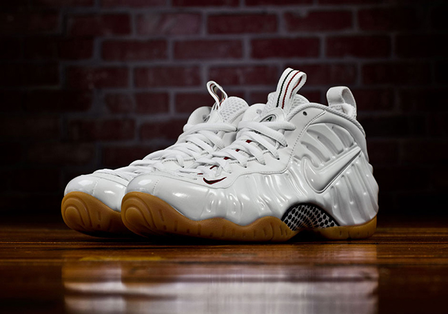 Nike Air Foamposite Pro White Gum Gucci