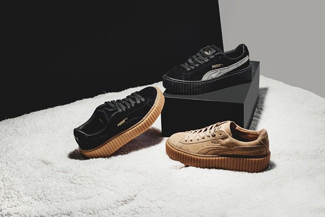 Rihanna Puma Suede Creeper Collection 0fbde2b4ff