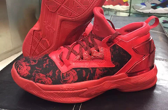 adidas D Lillard 2 Rose City Red  188f12a06f