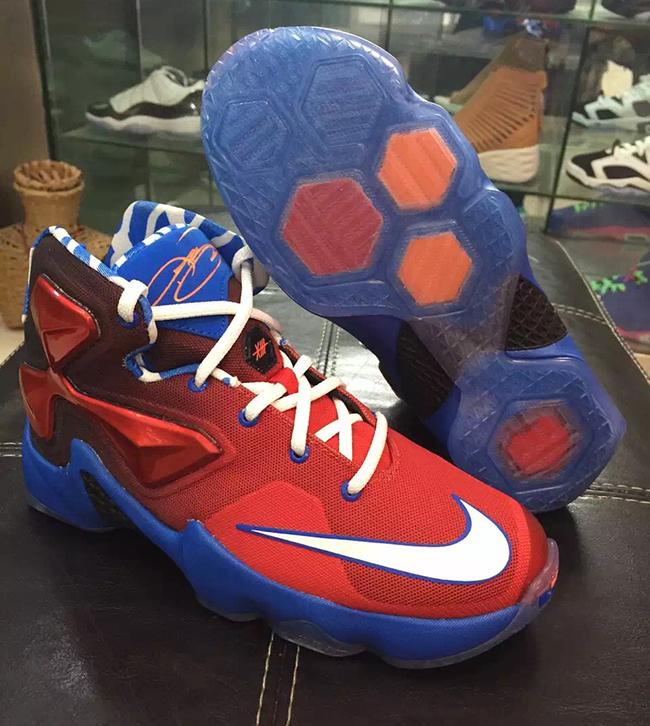 Nike LeBron 13 Spiderman