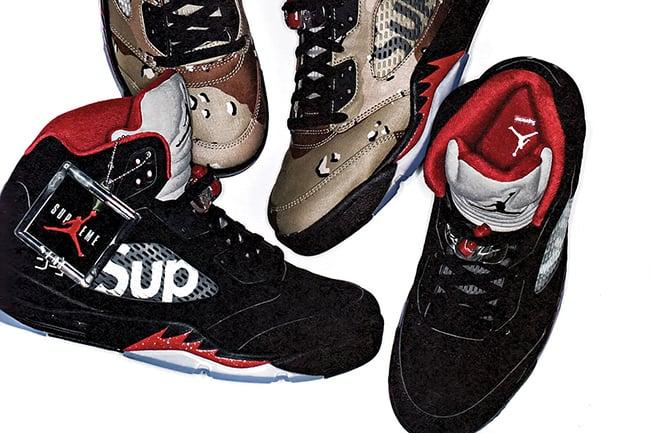 Supreme Air Jordan 5 October