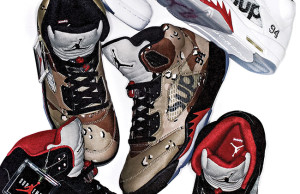 Supreme Air Jordan 5 October