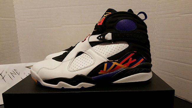 Three Times a Charm Air Jordan 8 Three Peat