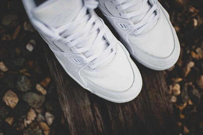 White Ostrich Nike Air Flight 89