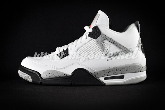 2016 Air Jordan 4 Retro 89 White Cement