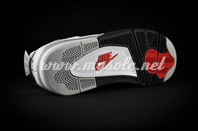 2016 Air Jordan 4 Retro 89 White Cement