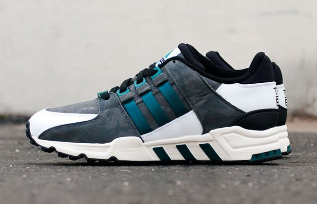 Adidas EQT Support RF White Camo Size 10