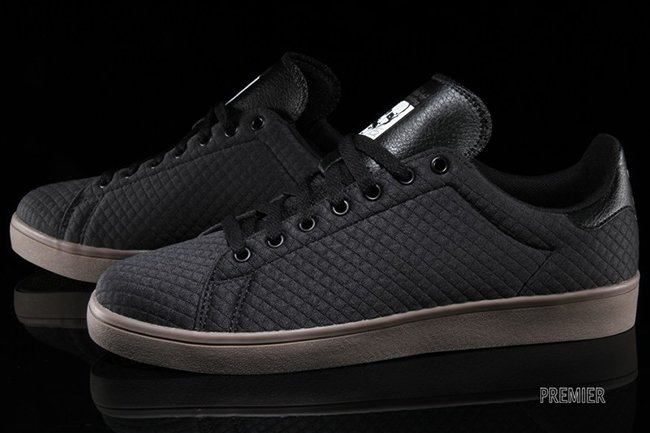 super popular 361f5 abbbf adidas Stan Smith Vulc Carbon Black | SneakerFiles