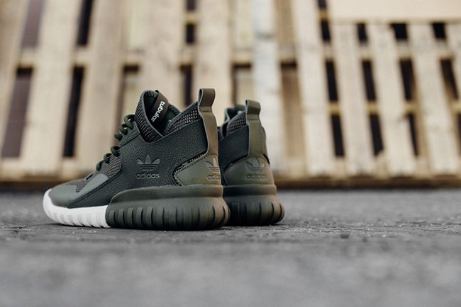 Adidas Tubular X Army Green