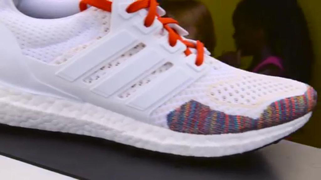 adidas Ultra Boost Multicolor White