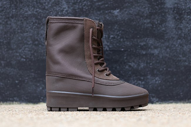 Chocolate Brown adidas Yeezy 950 Boot