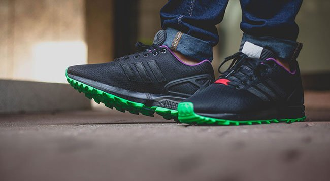 adidas ZX Flux Flash Lime