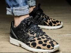 adidas ZX Flux Leopard Splatter