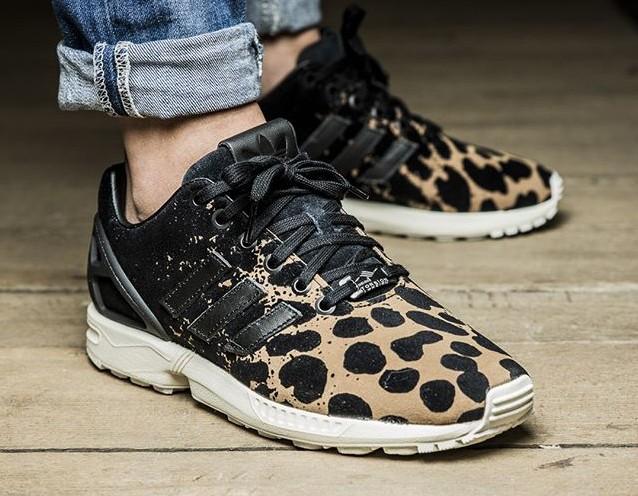 Adidas Zx Flux Leopard Print