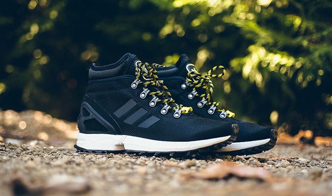 info for 78c47 3f1f4 adidas zx flux winter boot core black