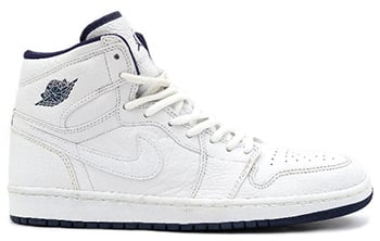 Air Jordan 1 Japan White Blue 2001 Release Date