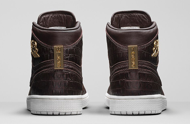 Brown Croc Air Jordan 1 Pinnacle