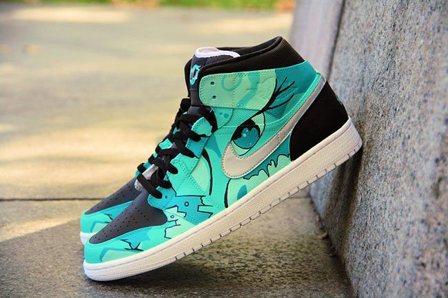 Air Jordan 1 Tiffany Gone Wild Custom