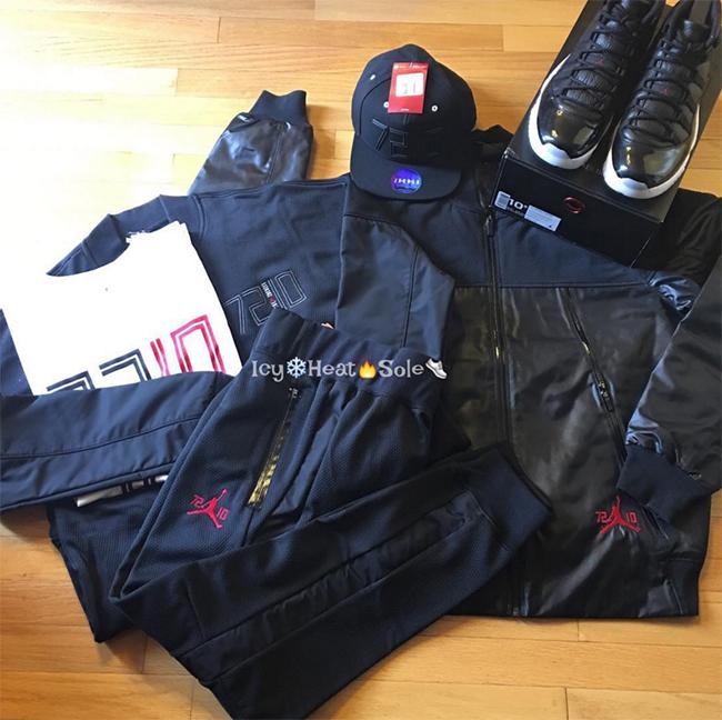 Air Jordan 11 72 10 Clothing
