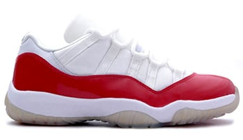 Air Jordan 11 Low White Red 2001 Release Date