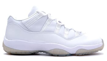Air Jordan 11 Low White Zen Grey 2001 Release Date