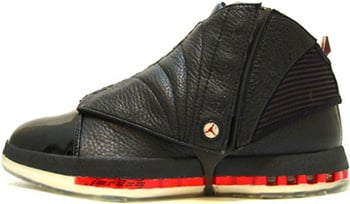 Air Jordan 16 Black Red 2001 Release Date
