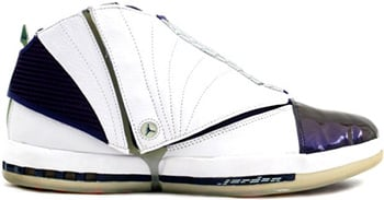 Air Jordan 16 White Midnight Navy 2001 Release Date