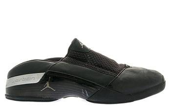 Air Jordan 17 Mule Black Silver 2002 Release Date